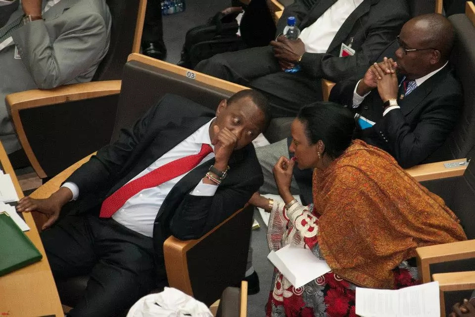 Uhuru & Amina Mohamed shared these powerful moments