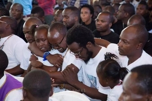 Sadness as NTV and Churchill comedian Professor Hamo's dad is laid to rest