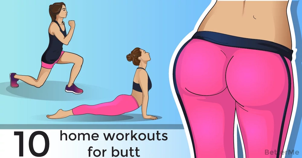 10 home workouts for a firm and round booty