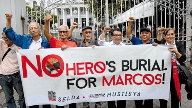Gov't lawyers defend Marcos' hero burial on 2nd orals