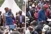 Inashangaza: Wakazi wa Machakos waondoka uwanjani Rais Uhuru akiwahutubia(video)
