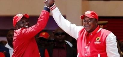 Hii hapa ratiba ya jinsi uteuzi wa chama cha Jubilee utakavyofanywa