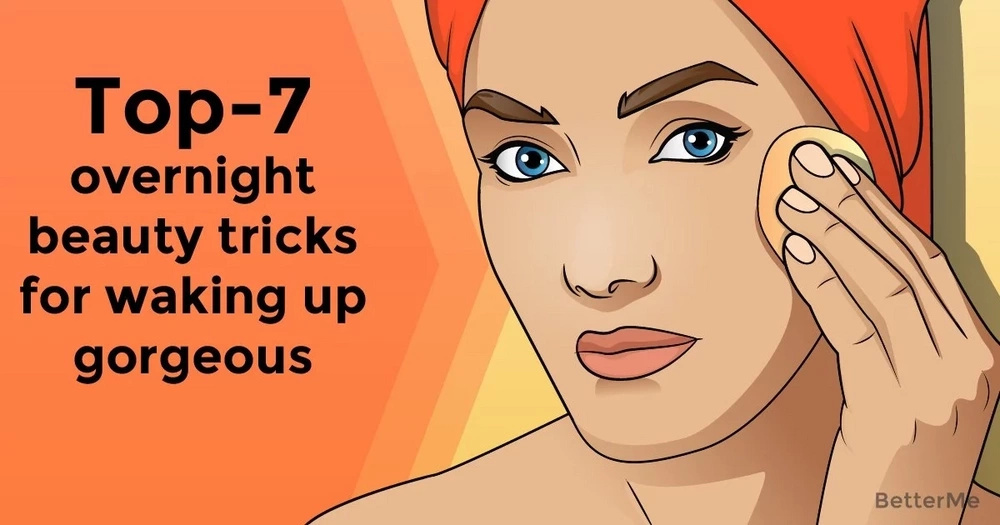 Top-7 overnight beauty tricks for waking up gorgeous