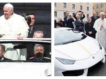 Goodbye popemobile na nga ba? Pope Francis receives a Lamborghini Huracan