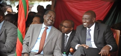 Raila Odinga speaks about DP William Ruto ICC case termination