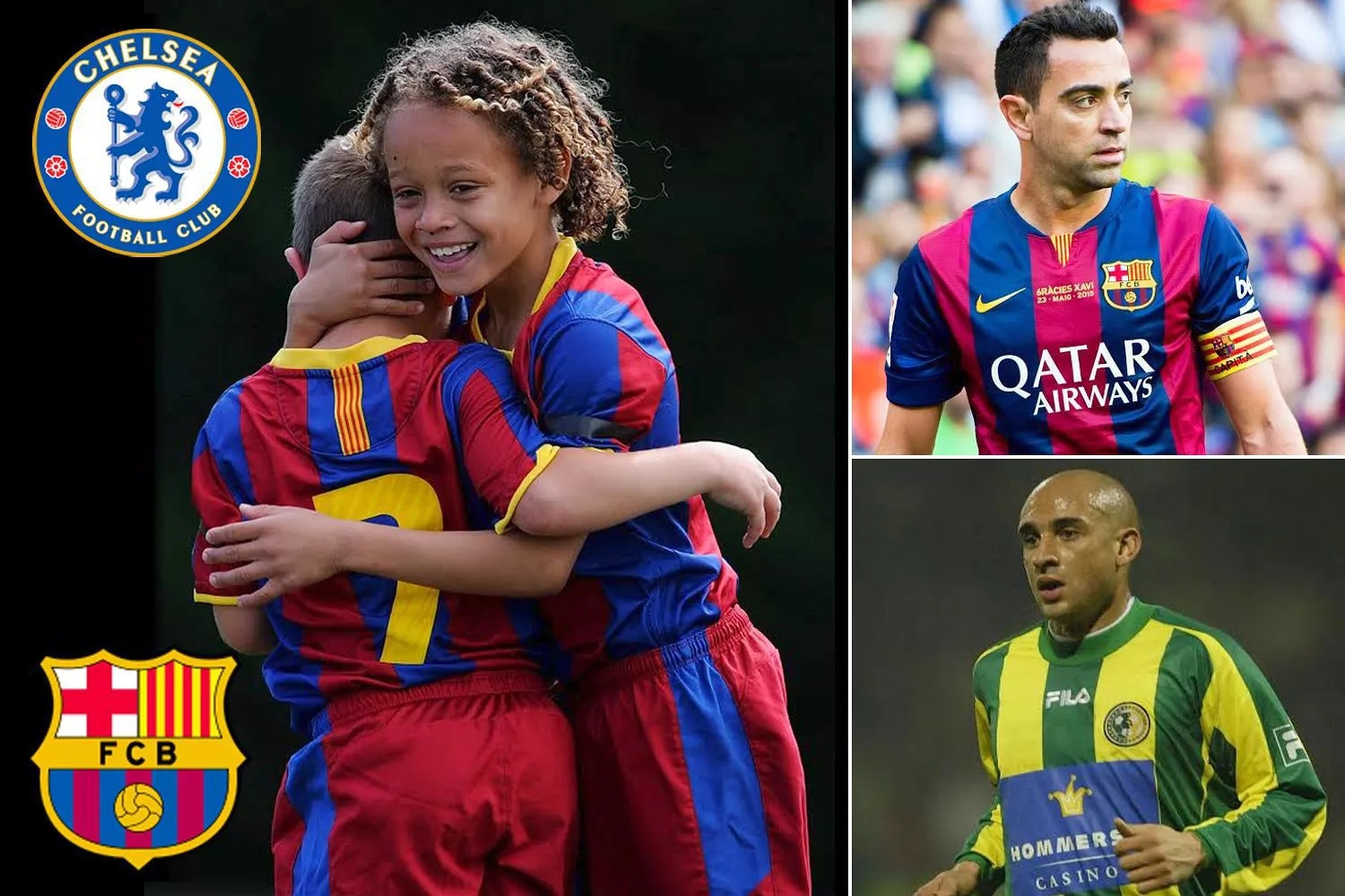 Chelsea want to sign 12-year-old boy Xavi from Barcelona