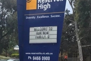 School Advertising ' Diversity, Excellence, Success' Makes Embarrassing Error For The World To see