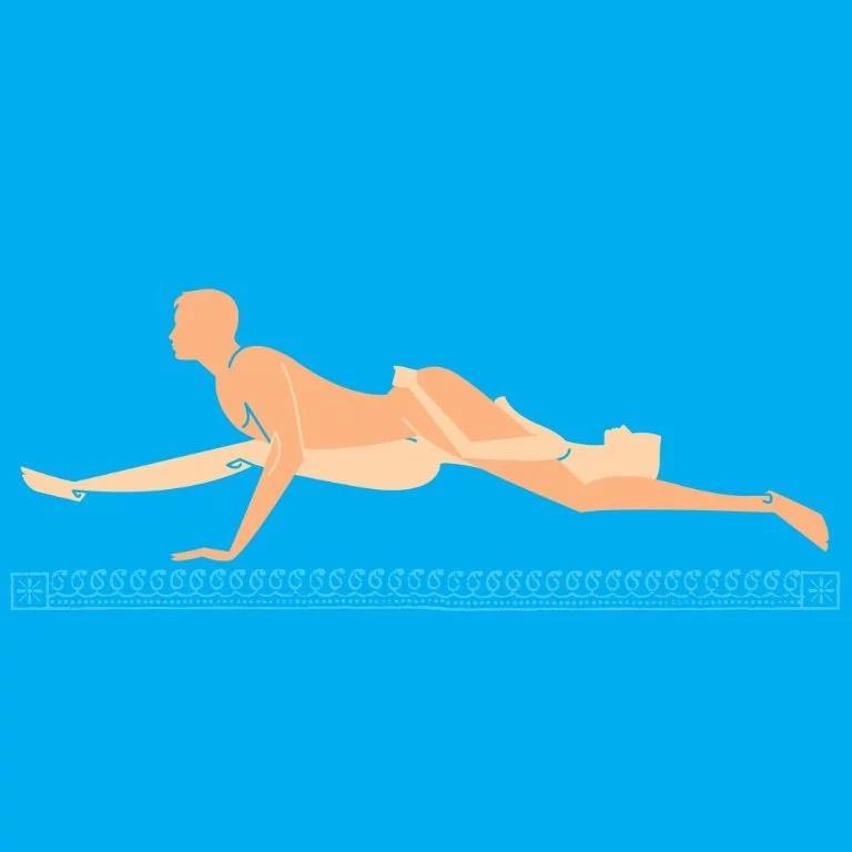 6 posiciones sexuales jugosas para expertos en la cama