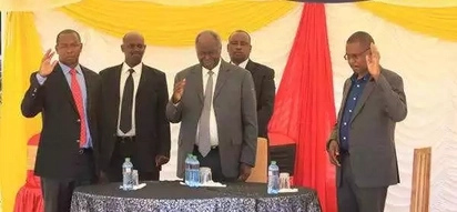 Death strikes Mwai Kibaki's home