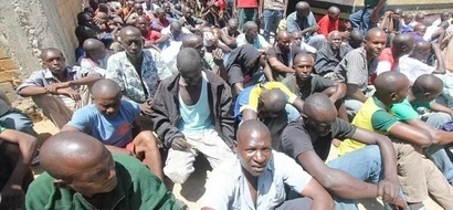 President Uhuru will love this! A look at how the freed prisoners walked out of prison happy
