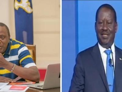 Kikuyu MP explains why Uhuru could not face Raila in the presidential debate