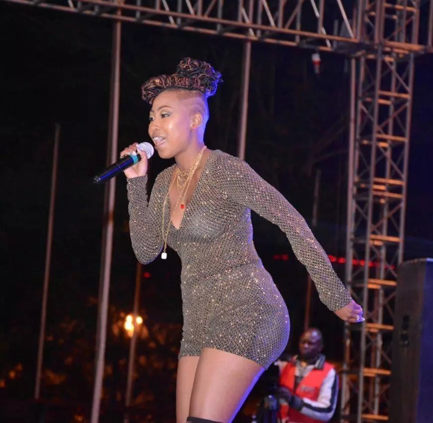 I survived on KSh 500 a month but now I have a house and car- Singer Vivianne