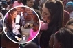Internet explodes after photos of South Africa's beauty queen wearing gloves while feeding black kids emerge