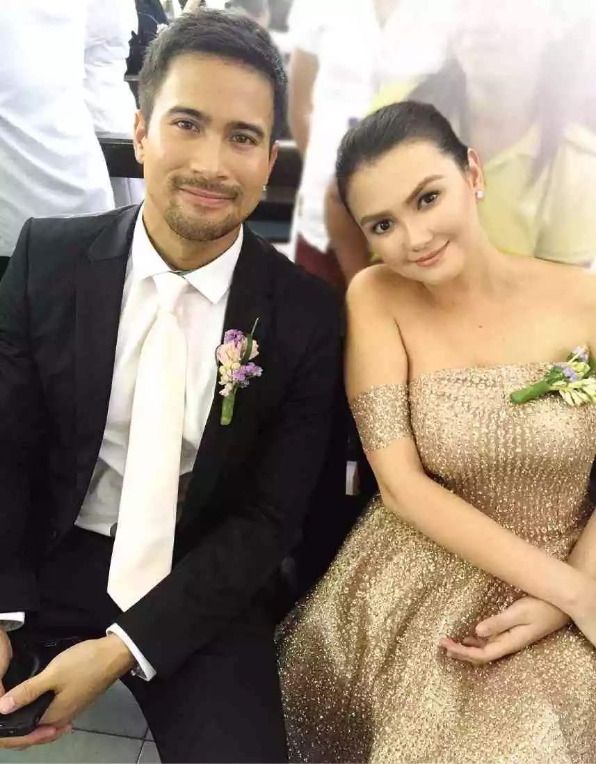 Lume-level up na ba sila? Super 'kilig' moment between Angelica Panganiban and Sam Milby was caught on video