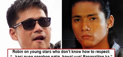 Na bad trip sa mga bastos na baguhang artista! Robin Padilla calls out young stars who fail to respect older actors and actresses