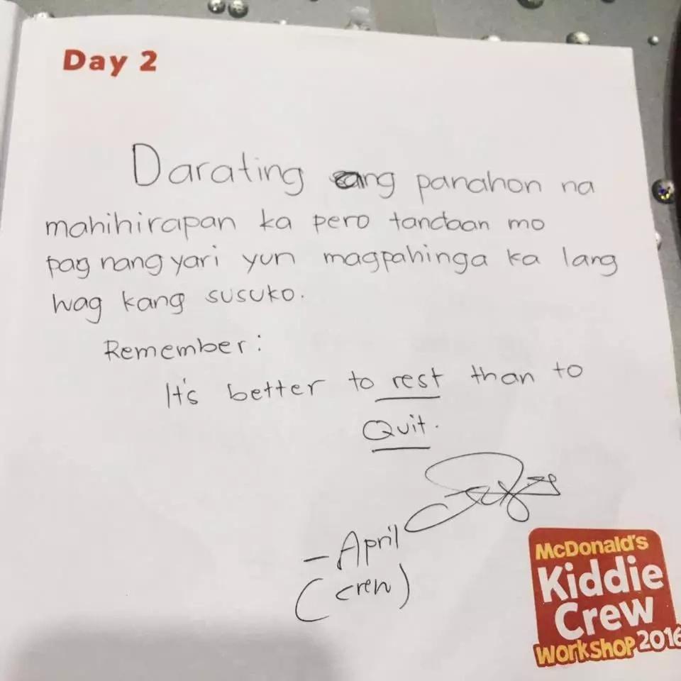 Netizen recalls inspiring Mcdonalds delivery encounter
