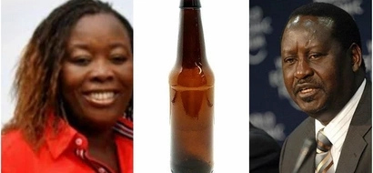 Raila exposes Uhuru's cousin but the two shared BEER