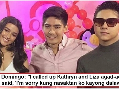 Robi Domingo breaks his silence on controversy surrounding his video with Daniel Padilla & Liza Soberano