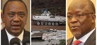 Uhuru Kenyatta pens letter to Magufuli following death of 15 Tanzanian soldiers in the DRC