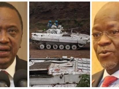 Uhuru amwandikia Magufuli barua baada ya vifo vya wanajeshi 15 wa Tanzania nchini Congo