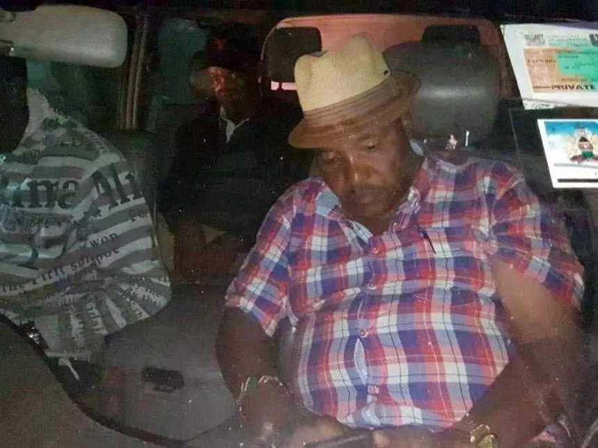 PUNJAB DERBY: Ferdinand Waititu 'arrested' with ballot papers