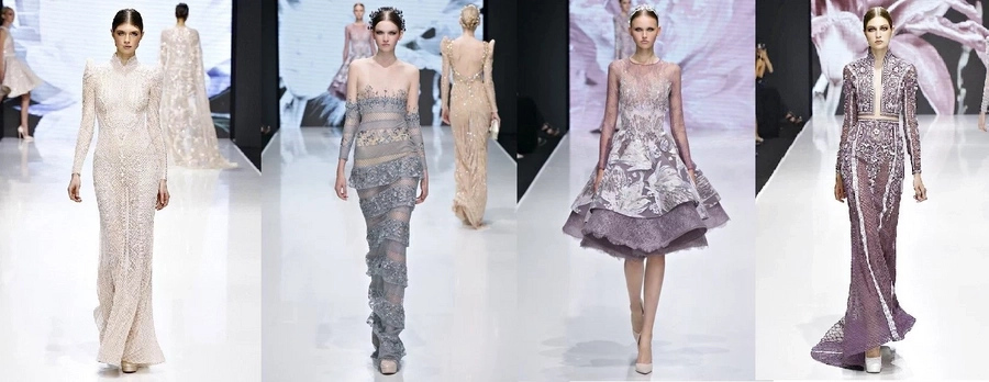 Michael Cinco shows collection in Paris