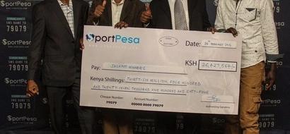 Meet the 4 Kenyan millionaires who have won 36 million Sportpesa jackpot