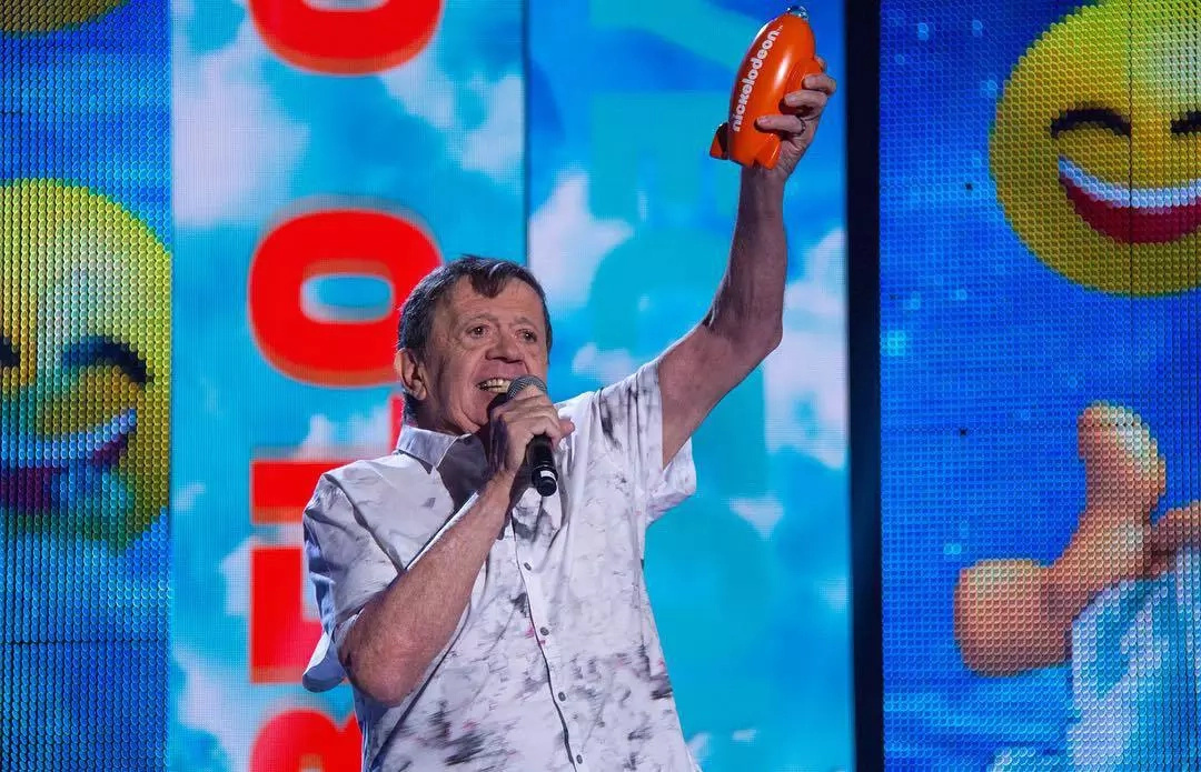 Chabelo fue premiado en los Kids Choice Awards