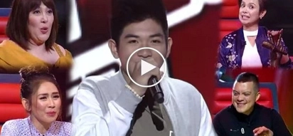 Valedictorian basketball player wows 4 The Voice judges with his incredible voice! They all turned for him!