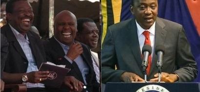 Moi ampa rais Uhuru ahadi ,je Kanu itaunga mkono Nasa?
