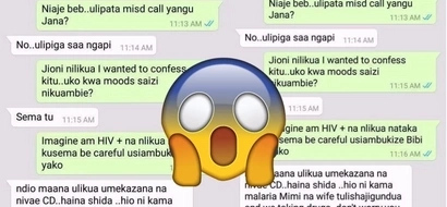 Side Chick tells married man that she infected him with HIV, his answer throws her off a cliff