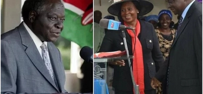 Kibaki's rumoured 'wife' finally reveals details on his health