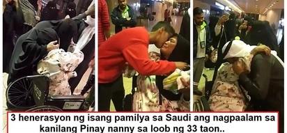 Nakaka-iyak sila! Pinay OFW's heartbreaking farewell with her Saudi employers of 33 years