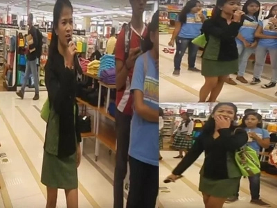 Pinay student breaks social media with epic version of 'I will Survive'
