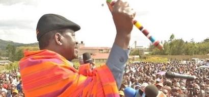'Mfuasi' wa Jubilee AVAMIA hafla ya Raila Odinga!
