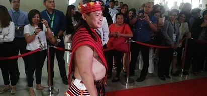Find out why Ifugao Rep Teddy Baguilat has the best dress for SONA 2016