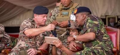 Jordanian King surprisingly meets his Kenyan classmate (photos)