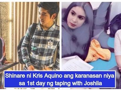 Kris Aquino, may rebelasyon kung paano siya trinato nila Joshua Garcia at Julia Barretto sa 1st day ng shooting