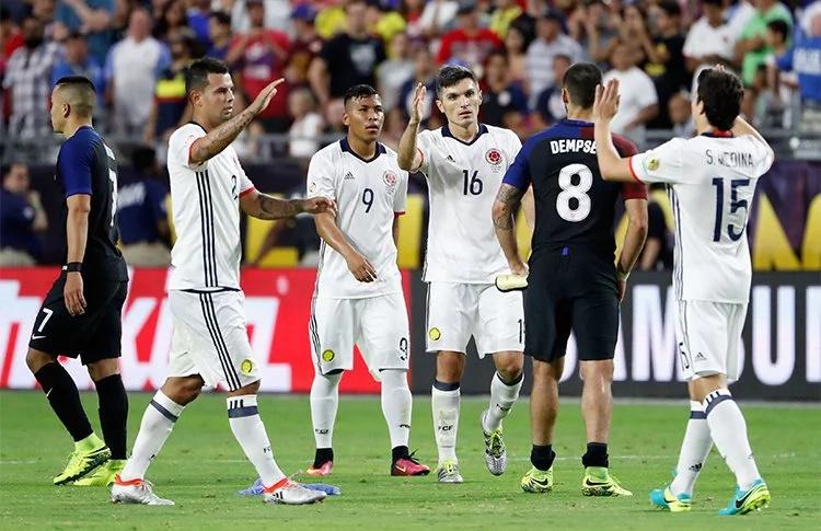 Selección Colombia, conforme con su Copa América
