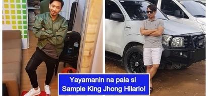 Gaano ba kayaman si Jhong Hilario? Yumaman si 'Sample King' dahil sa sipag at tiyaga!