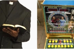 Pastor dies painfully over a gambling machine