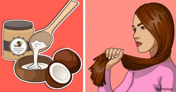 9 natural solutions to nourish and straighten the hair