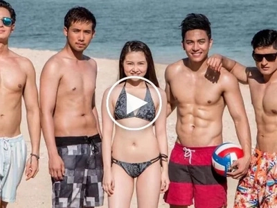 Celebrities react to Barbie Forteza's sizzling beach photo
