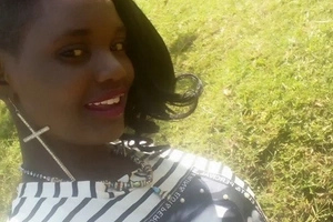 Kenyans mercilessly maul Eldoret socialite who posted naked photos online (photos)