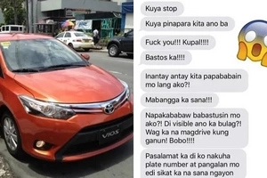 This Uber driver made this passenger get down his vehicle because of her extremely rude messages to him