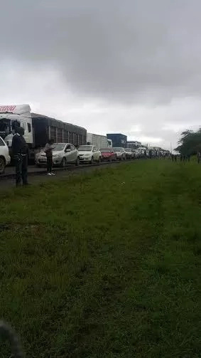 Traffic jam from hell? Motorists spend night on Mombasa Road after snarl up