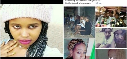 Photo of the dangerous female thugs terrorizing Nairobi residents