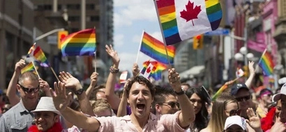 [VIdeo] Justin Trudeau: first Canadian PM to attend gay parade