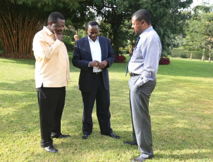 NASA co-principals Mudavadi,Kalonzo,Wetangula finally welcome Raila-Uhuru political deal