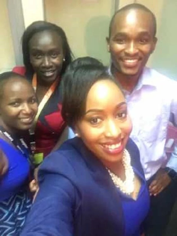 Hussein Mohammed's sweet words after Janet Mbugua announced she's leaving Citizen TV